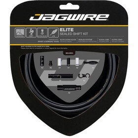 Jagwire Elite Sealed Schaltzugset stealth black